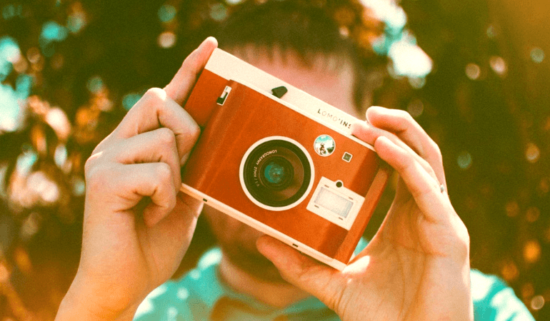initial stage of photography